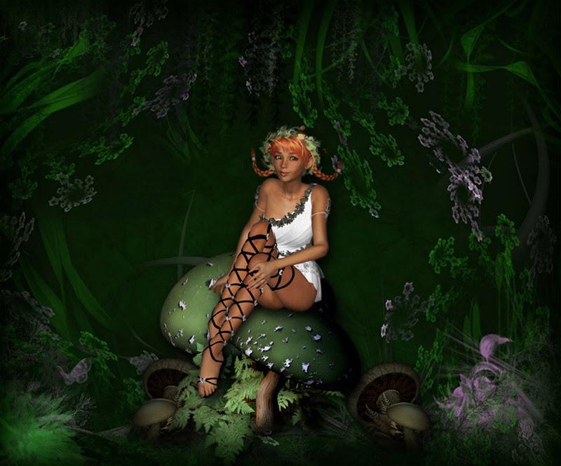 Pretty Girl In The Wood, Fairies 1