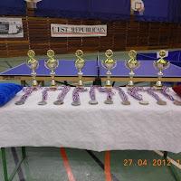2011-2012 - Championnat de Lorraine 2012 - Podiums de samedi