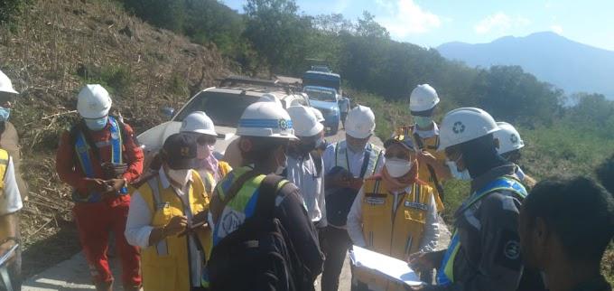 Ditjen Perumahan Kementerian PUPR Tinjau Tempat Relokasi Rumah Warga, Kades Bungabali: Jumlah 61 Rumah