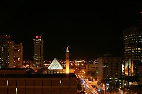 Downtown Edmonton at night