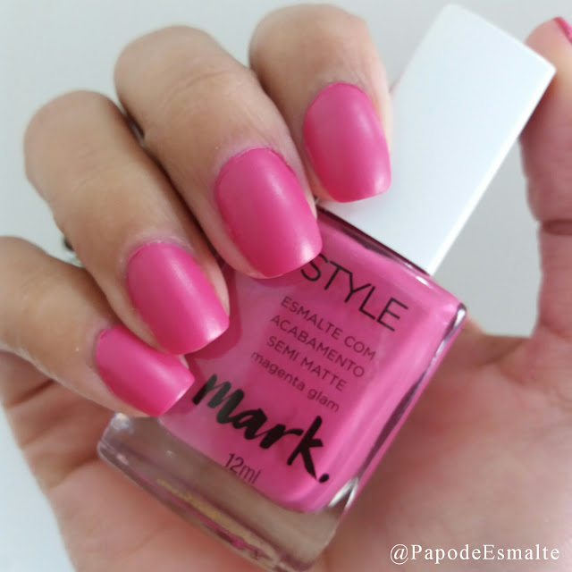 Magenta Glam - Avon Mark
