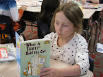 Caught Reading at Gilles-Sweet: Right to Read Week (Grade 1)