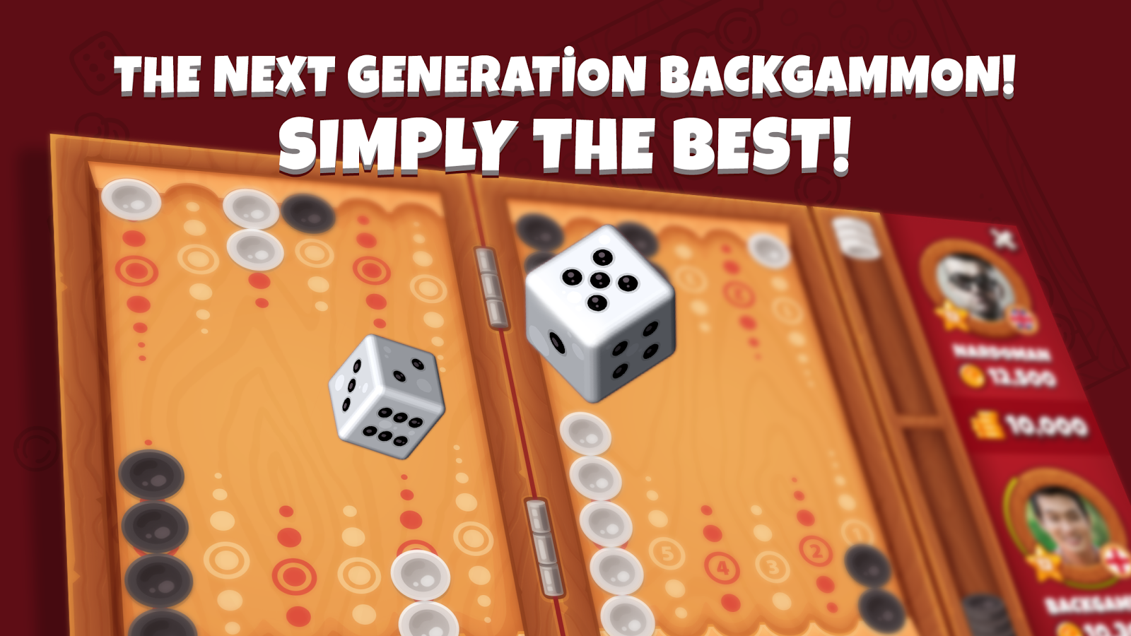 Next Backgammon, Board Game- screenshot