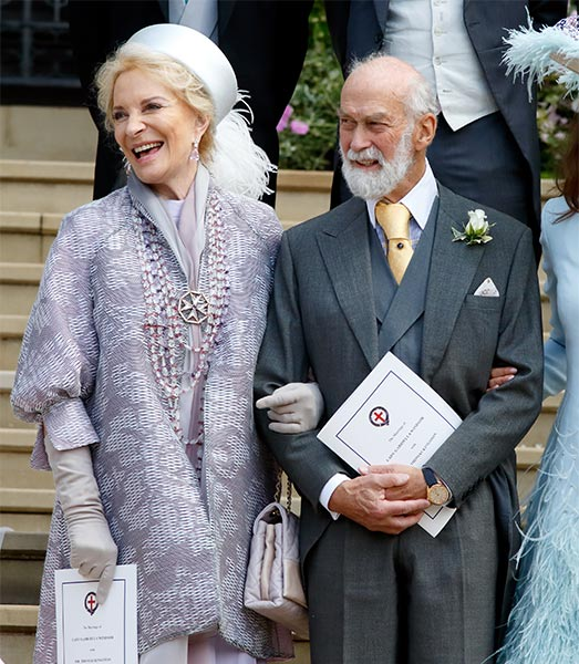 Princess Michael of Kent pictured for First Time Since Recovery from Blood Clots