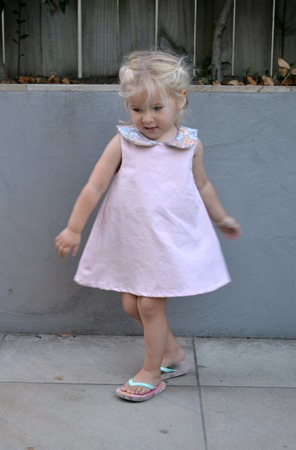 Clementine Pipi dress front