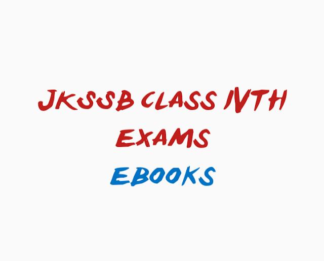 DOWNLOAD HERE | JKSSB CLASS IVTH EXAMS PART 1 BASIC MATHEMATICS EBOOKS
