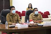 Sekda Kalbar Buka Rapat Evaluasi Penyelenggaraan Pemerintah Daerah Provinsi Kalbar Tahun 2020.