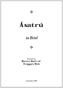 Cover of Reeves Hall's Book Asatru In Brief