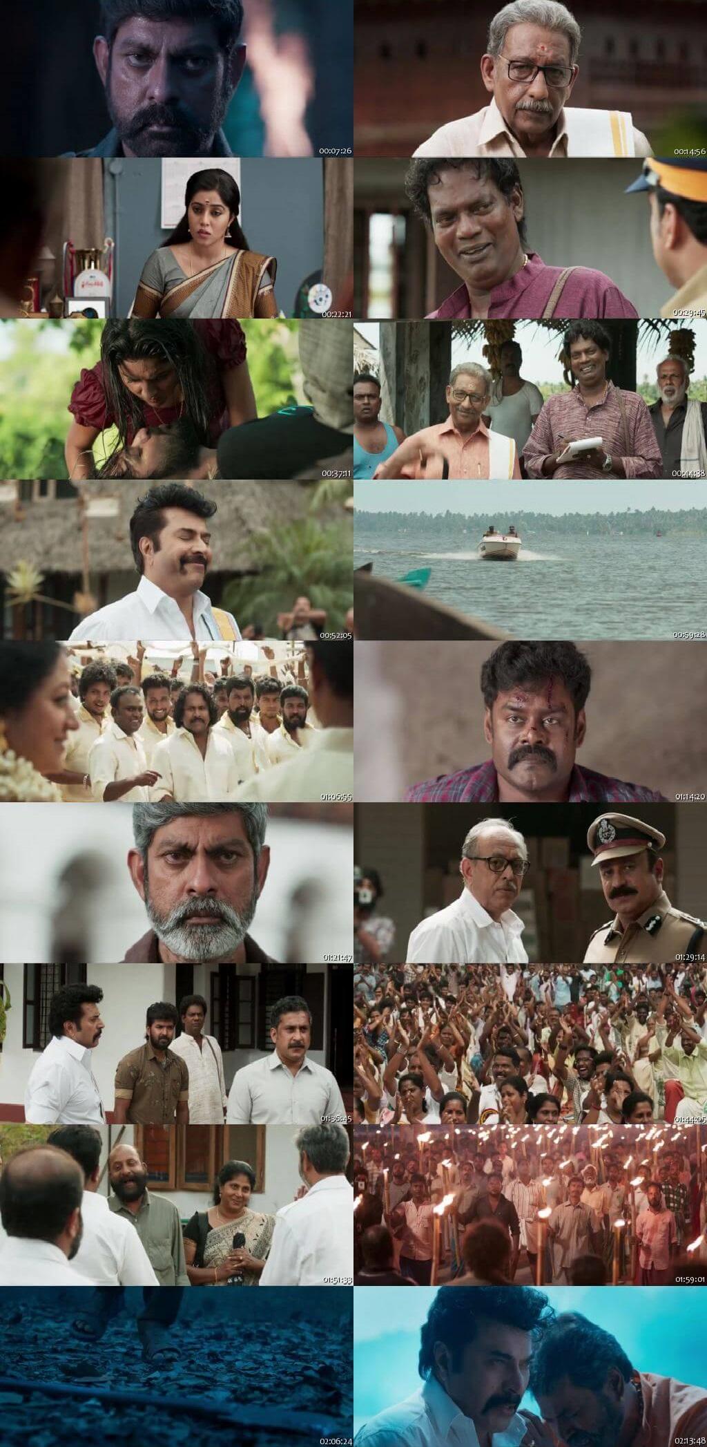 Screen Shot Of Madhuraraja 2019 300MB Full Movie Hindi Dubbed Free Download 720P HDRip HEVC