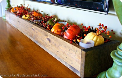 fall mantel, pumpkins