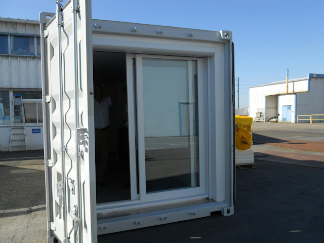 Container 20ft 13m2 maison container for Maison container maritime
