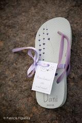 Foto 0130. Marcadores: 30/07/2011, Casamento Daniela e Andre, Havaianas, Lembrancinha, Rio de Janeiro