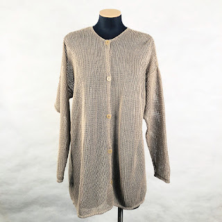 *SALE* Calvin Klein Collection Linen Tunic Sweater