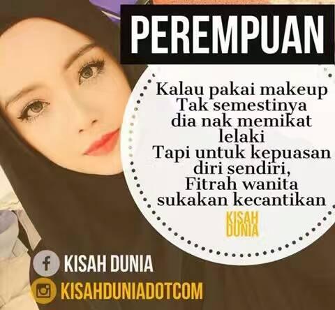 Perempuan & Makeup