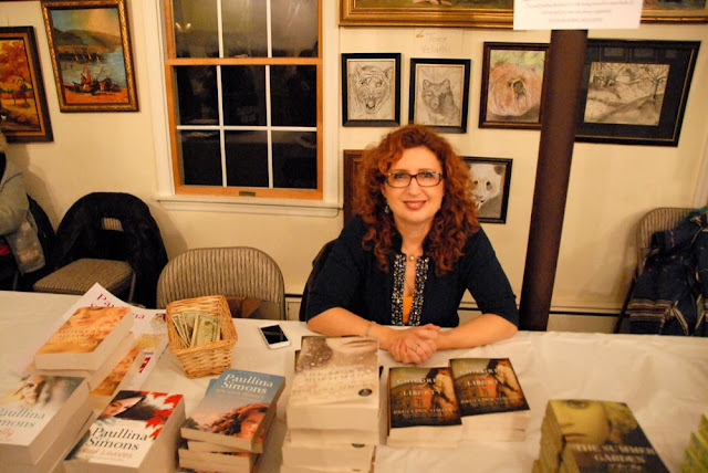 Paullina Simons was onhand to sign copies of some of her latest novels.
