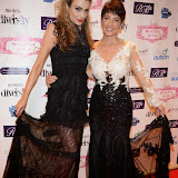 WWW.ENTSIMAGES.COM -  Jennifer Klein and Anna Kennedy   at     Charity catwalk show at Wear it for Autism - Millennium Hotel London Knightsbridge, London October 6th 2014Charity fashion show to celebrate families and individuals affected by autism.                                                 Photo Mobis Photos/OIC 0203 174 1069