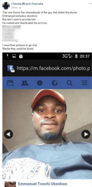 Lady Cries After The Movie Director She Met On Facebook Robbed Her Friend Who Is An Upcoming Actress (Photos)