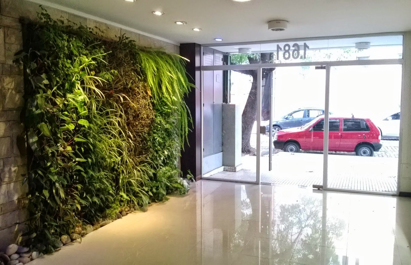 Muros verdes en Buenos Aires, Argentina