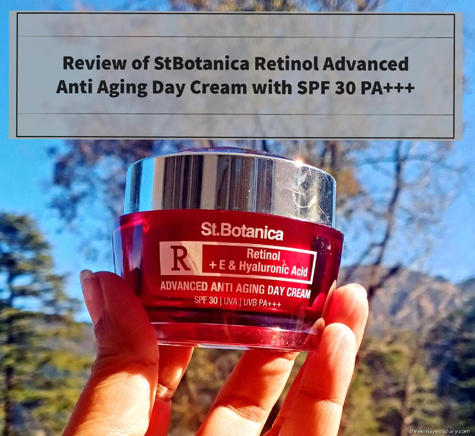 Day cream, retinol, hyaluronic acid
