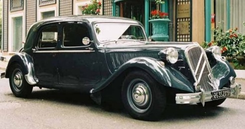 Citroën Traction 15-Six H 1955