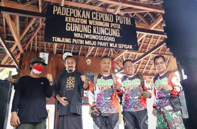 Gunung Kuncung Diruwat Sejumlah Ormas, Dandim 0814 Jombang Letkol Inf. Triyono Hadir Berikan Dukungan