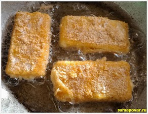 Готовим сыр жареный