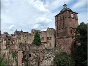Ruinas del Palacio - Heidelberg