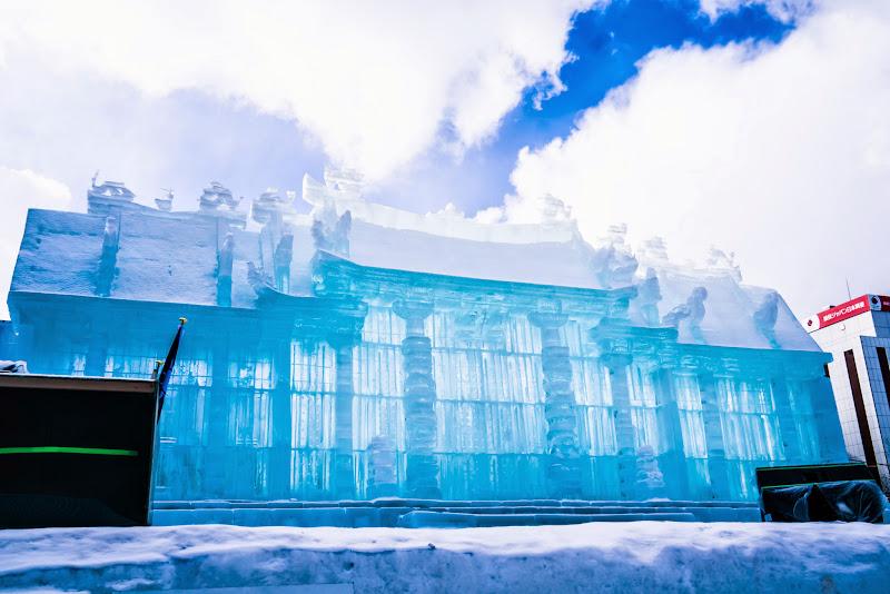 さっぽろ雪まつり 台湾-行天宮 写真1