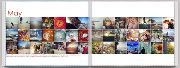 instagrams as month pages600px