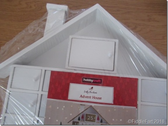 Hobbycraft Advent House