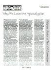 Why We Love the Apocalypse