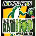 Logo of Hoppin' Frog Fresh Frog Raw Hop Imperial Pale Ale