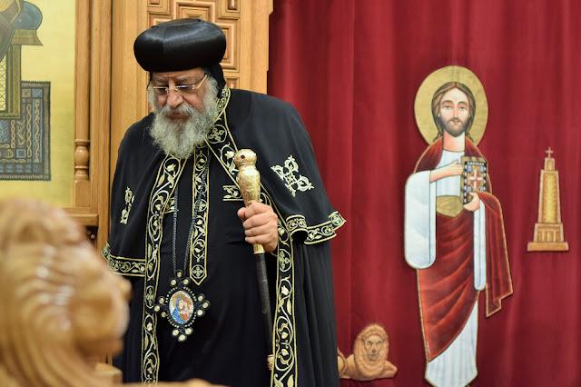 His Holiness Pope Tawadros II visit to St. Mark LA - DSC_0235.JPG