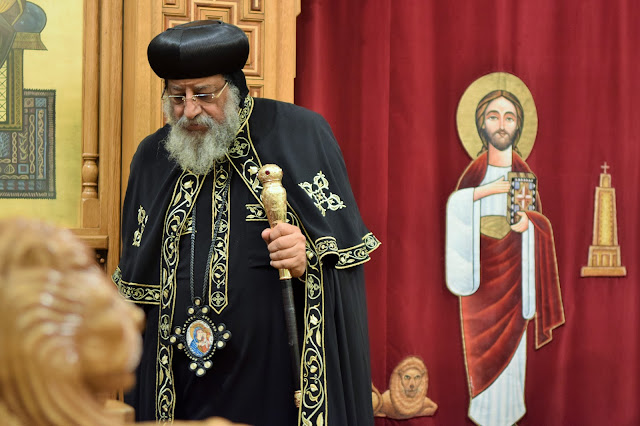 His Holiness Pope Tawadros II visit to St. Mark LA - DSC_0235.JPG
