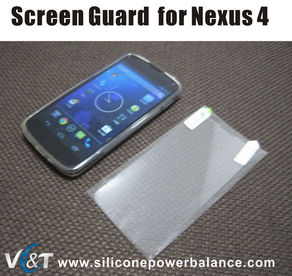 screen protector for lg e960 nexus 4 screen guard wholesale