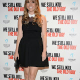 WWW.ENTSIMAGES.COM -  Adele Silva arriving at      We Still Kill The Old Way - private film screening at The Ham Yard Hotel, London September 29th 2014Private screening of forthcoming film about a group of former 1960s gangesters who come out of retirment to take on a group of youths after one of their number is murdered.                                                 Photo Mobis Photos/OIC 0203 174 1069