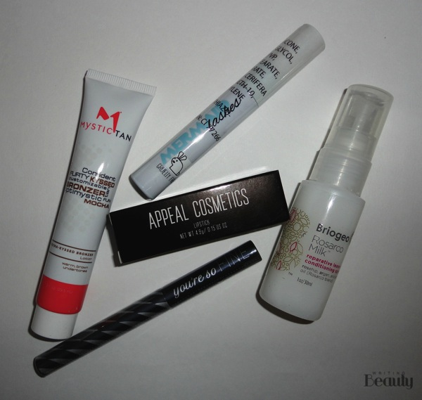 May 2016 Beauty Box Five 1