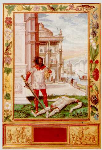 Severing The Head Of The King From Splendor Solis, Hermetic Emblems From Manuscripts 1