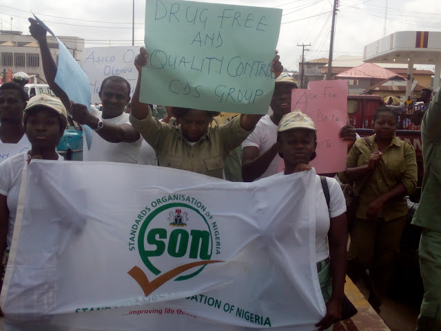%255BUNSET%255D - NYSC corps members sensitise public on drug abuse in Ondo State