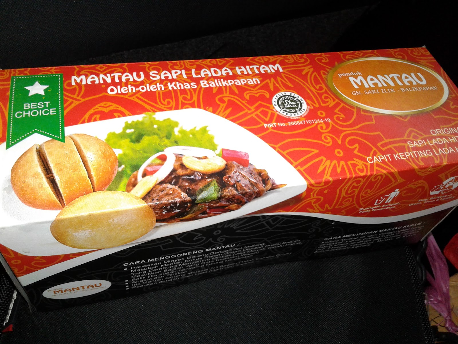 Roti Mantau Sapi Lada Hitam Oleh Oleh Khas Balikpapan Bangsaid