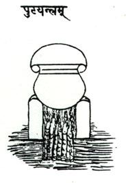 Indian Alchemical Apparatus Taken From Mediaeval Manuscript 4, Alchemical Apparatus