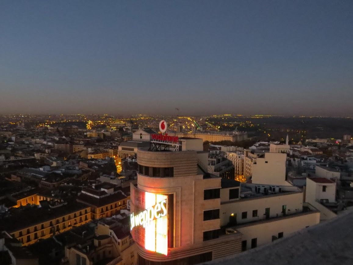 Panor micas de 360 y fotos al amanecer en madrid desde la for Sala 0 palacio de la prensa