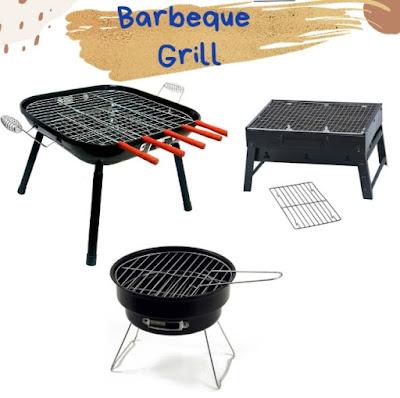 Berbagai jenis barbeque grill