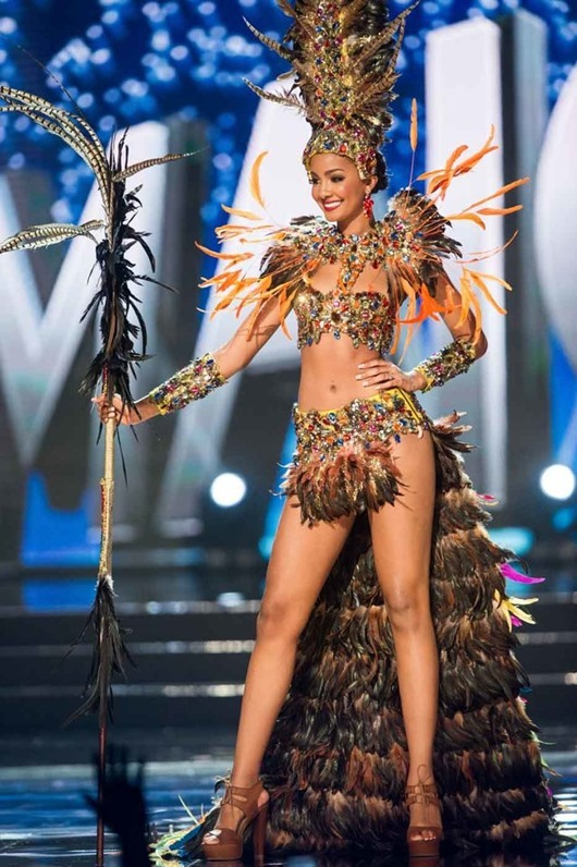 Isabel Dalley, Miss Jamaica 2016 debuts her National Costume on stage at the Mall of Asia Arena on Thursday, January 26, 2017.  The contestants have been touring, filming, rehearsing and preparing to compete for the Miss Universe crown in the Philippines.  Tune in to the FOX telecast at 7:00 PM ET live/PT tape-delayed on Sunday, January 29, live from the Philippines to see who will become Miss Universe. HO/The Miss Universe Organization