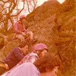 1976 Easter Roy Fisher, Bob Mott, Geoff Scott, Peggy Morant.jpg
