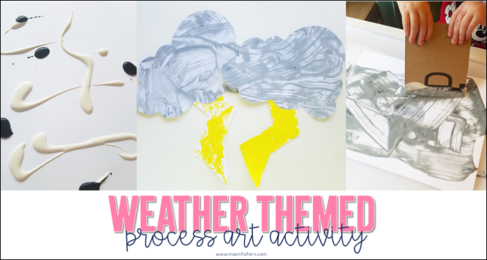 Weather Themed Process Art