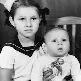 Дети - Наташа и Олег