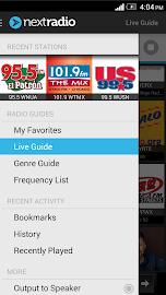 NextRadio - Free Live FM Radio Screenshot 4