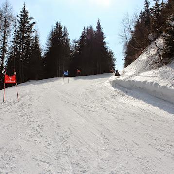 Schnelle Knirpse am Roßkopf, Abschlussrennen der Skischule Sterzing