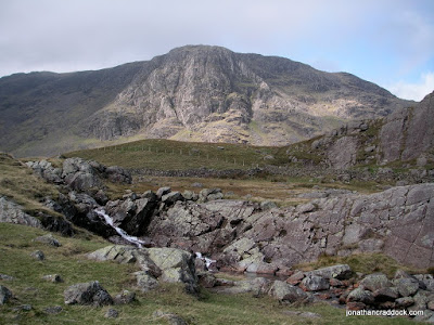 View of Raven Crag from Sourmilk Gill